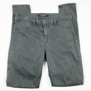 J Brand Super Skinny Dark Green Jeans Size 29